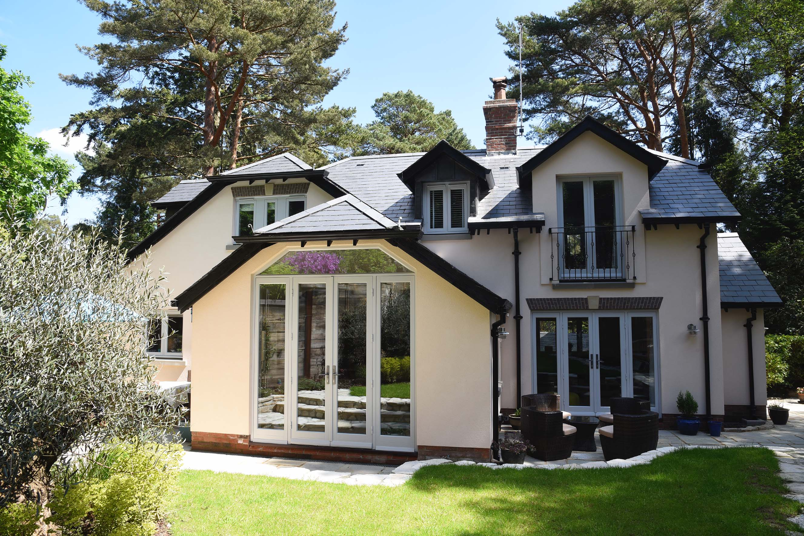 Terrific timber windows & doors for cottage