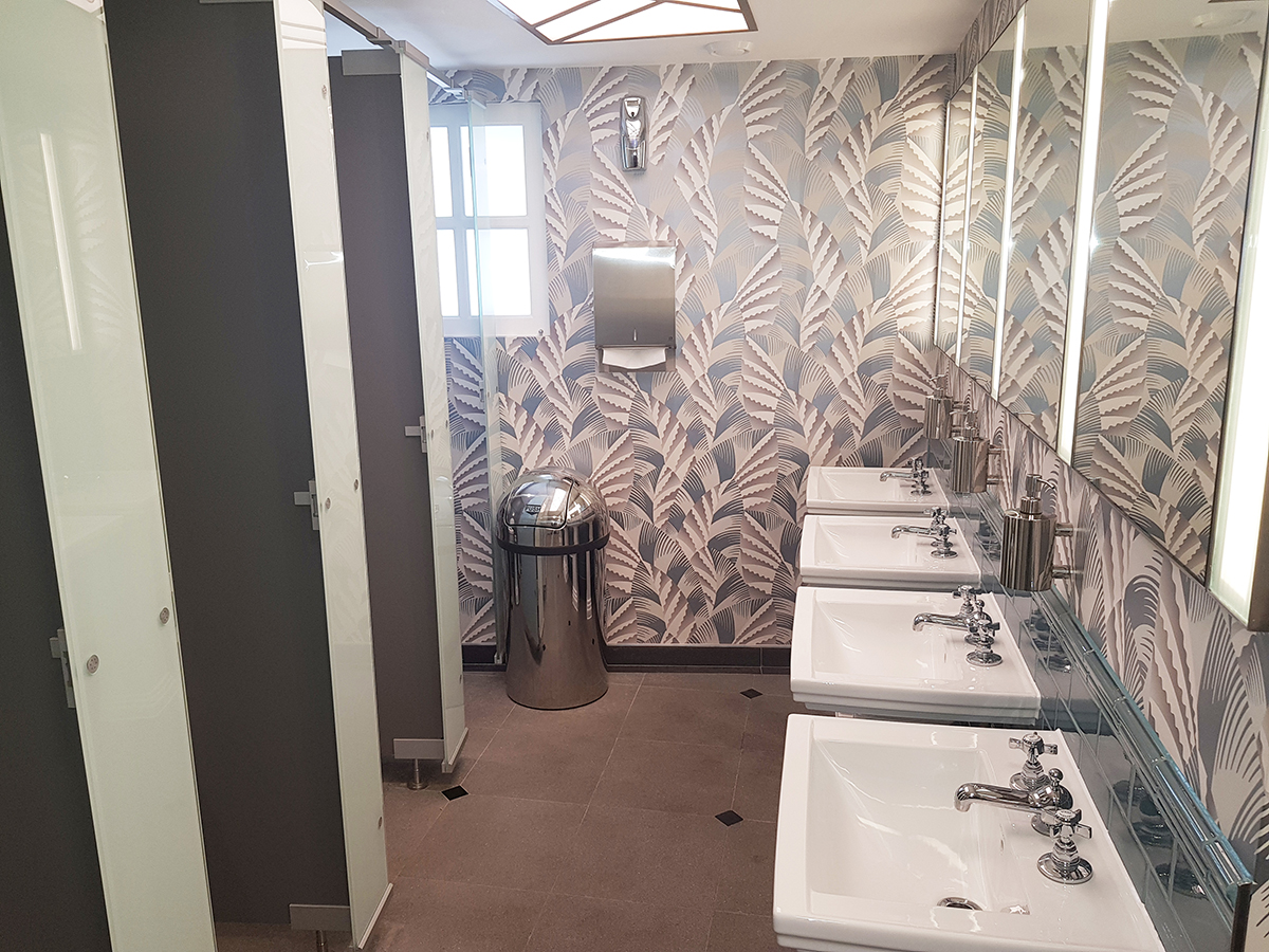 Kemmlit washrooms take centre stage at Prince Edward Theatre