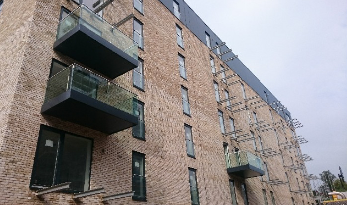 Acclaimed Glasgow development perfected with Sapphire balconies