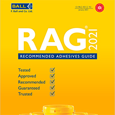 Recommended Adhesives Guide 2021