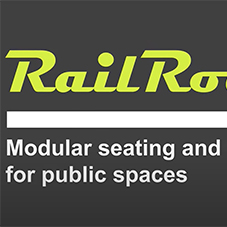 RailRoad – modular seating and planter solution for public spaces