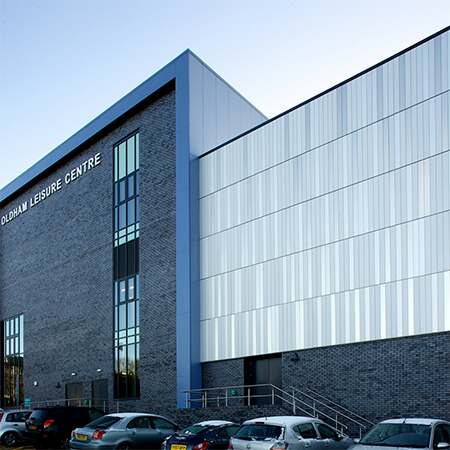 Rainscreen Cladding Aluminium Mesh Glass Reinforced