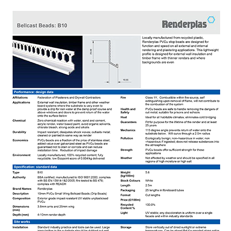 Renderplas Bellcast Beads B10