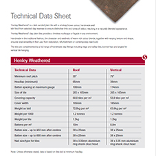 SIGnature Clay Henley Data Sheet
