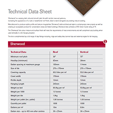 SIGnature Clay Sherwood Data Sheet
