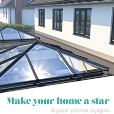 Skypod® pitched skylights