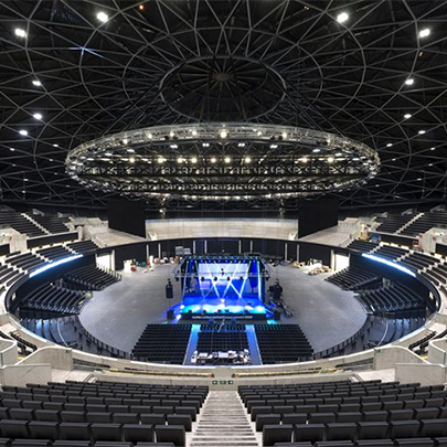 Decorative Floor Finishes At Sse Hydro Arena