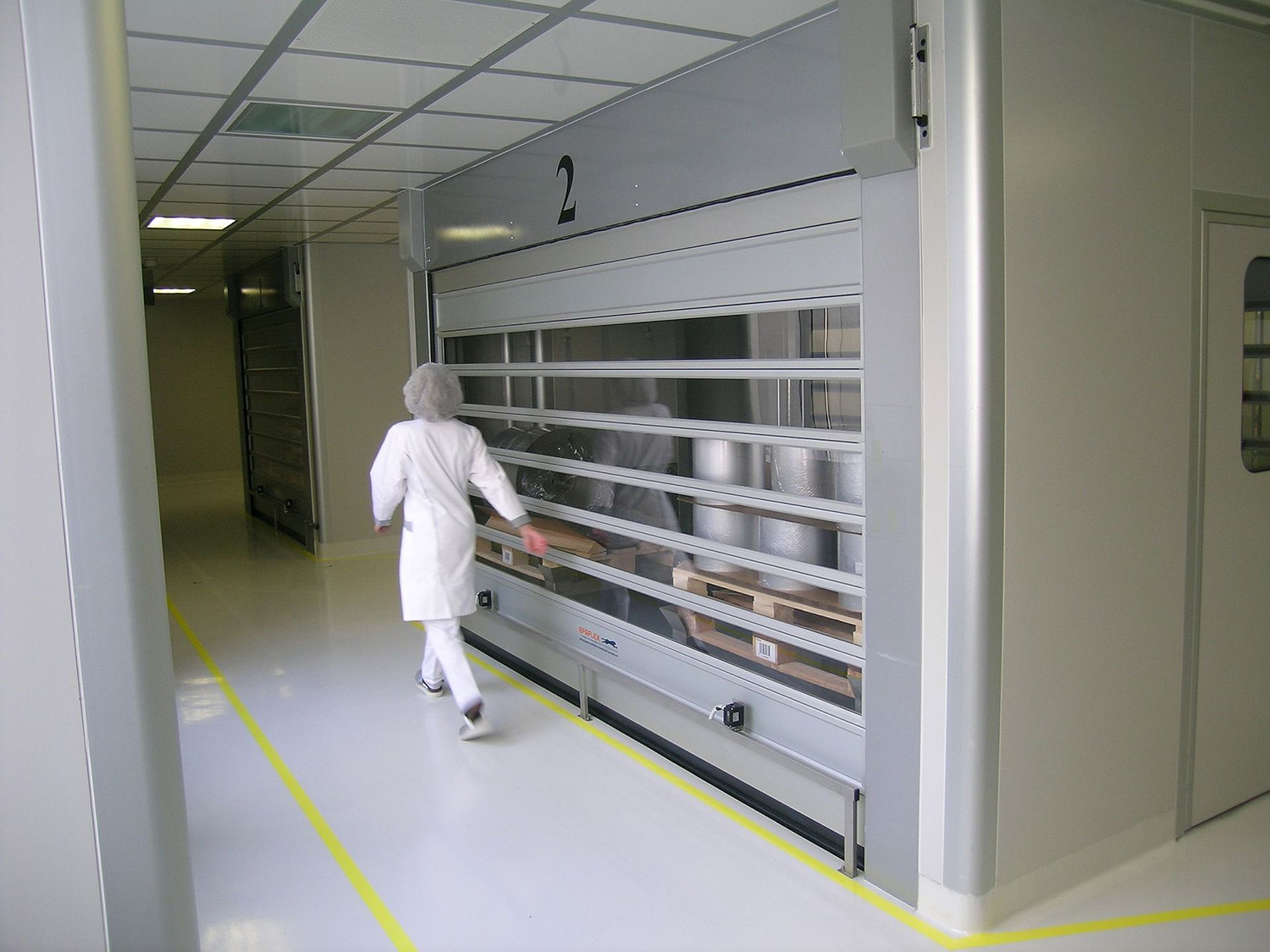 EFAFLEX high-speed doors, now in 3D