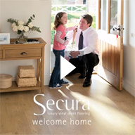 Secura Luxury Vinyl Sheet Flooring Video