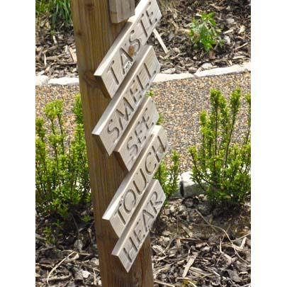 paving for primary school sensory garden