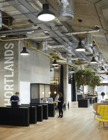 Shortlands Office refurbishment in Hammersmith, London