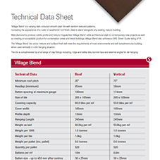 SIGnature Village Blend Data Sheet