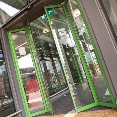 GEZE Slimdrive SF Automatic Door System & Automatic Door Systems (GEZE UK Ltd)