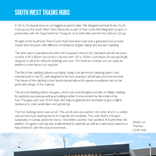 South West Training Hubs Project