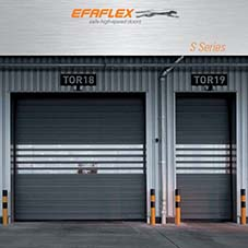 EFAFLEX S Series High Speed Spiral Doors