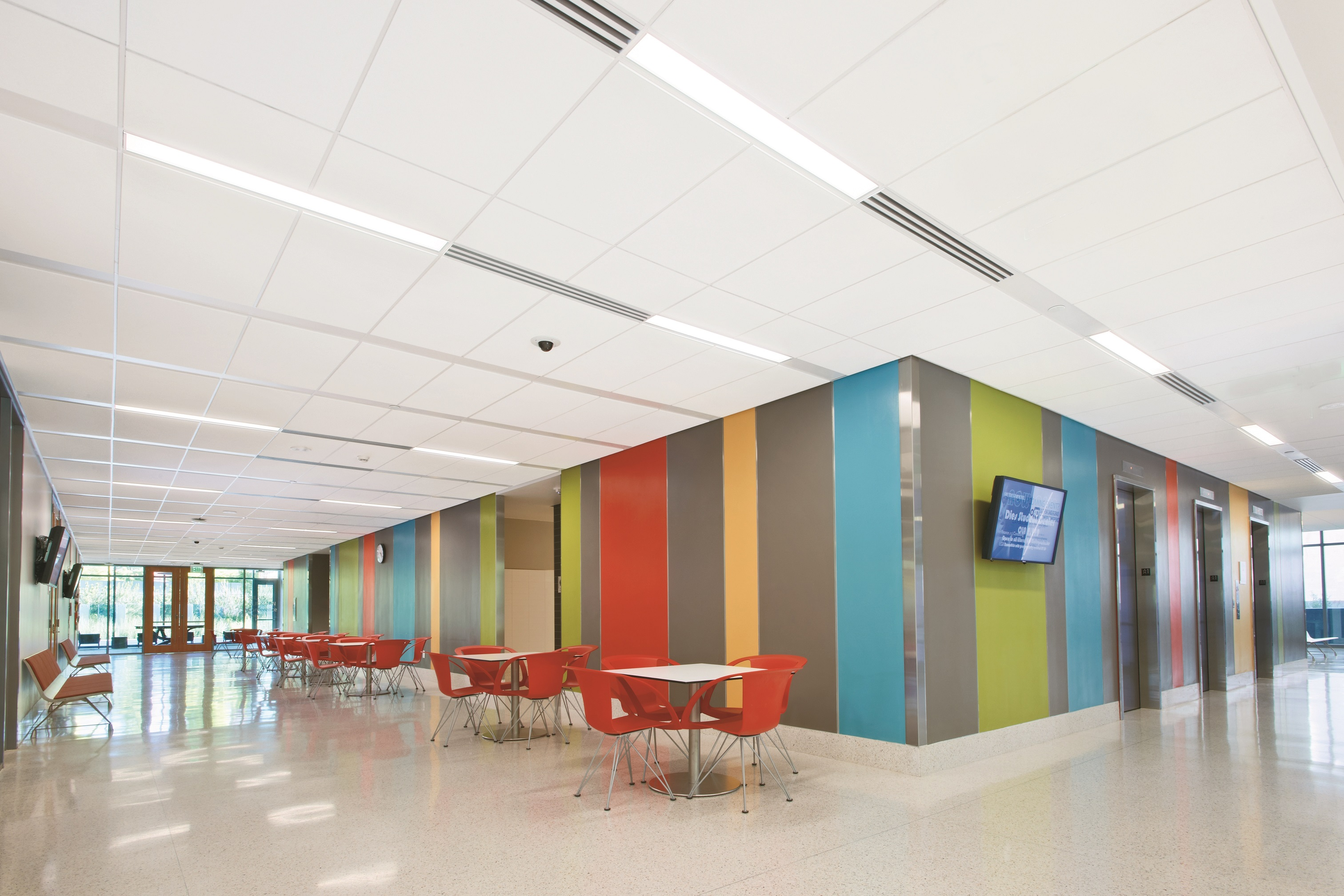 Armstrong Ceilings Enhance Techzone System