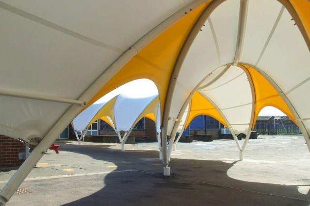 Playground Canopy For Thames View Junior School