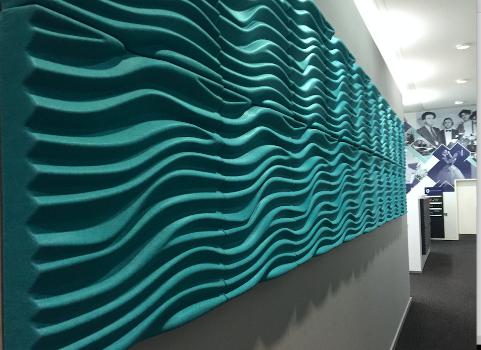 Advantages of Soundproof 3D Wave Wall Panels