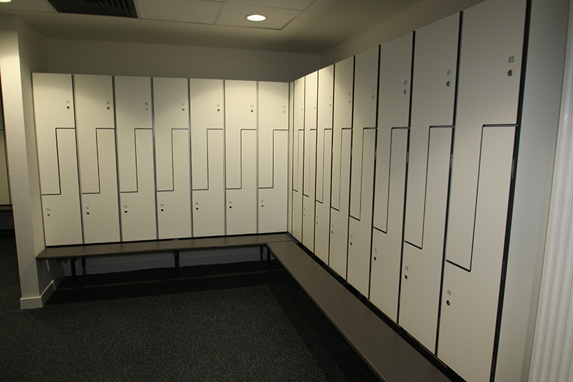 KEMMLIT lockers at the prestigious Willis Building