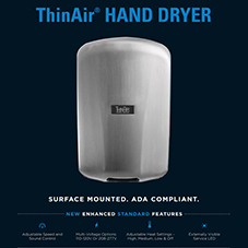 ThinAir® Hand Dryer Product Sheet