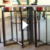 Tourlock Security Revolving Door Video