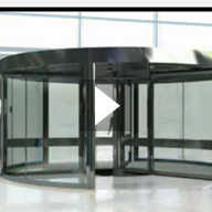 Tournex Revolving Door Video