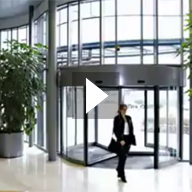 Tourniket Revolving Door Video