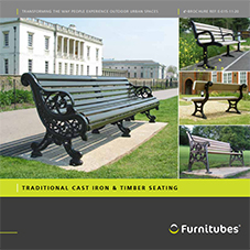 Traditional Cast Iron & Timber Seating