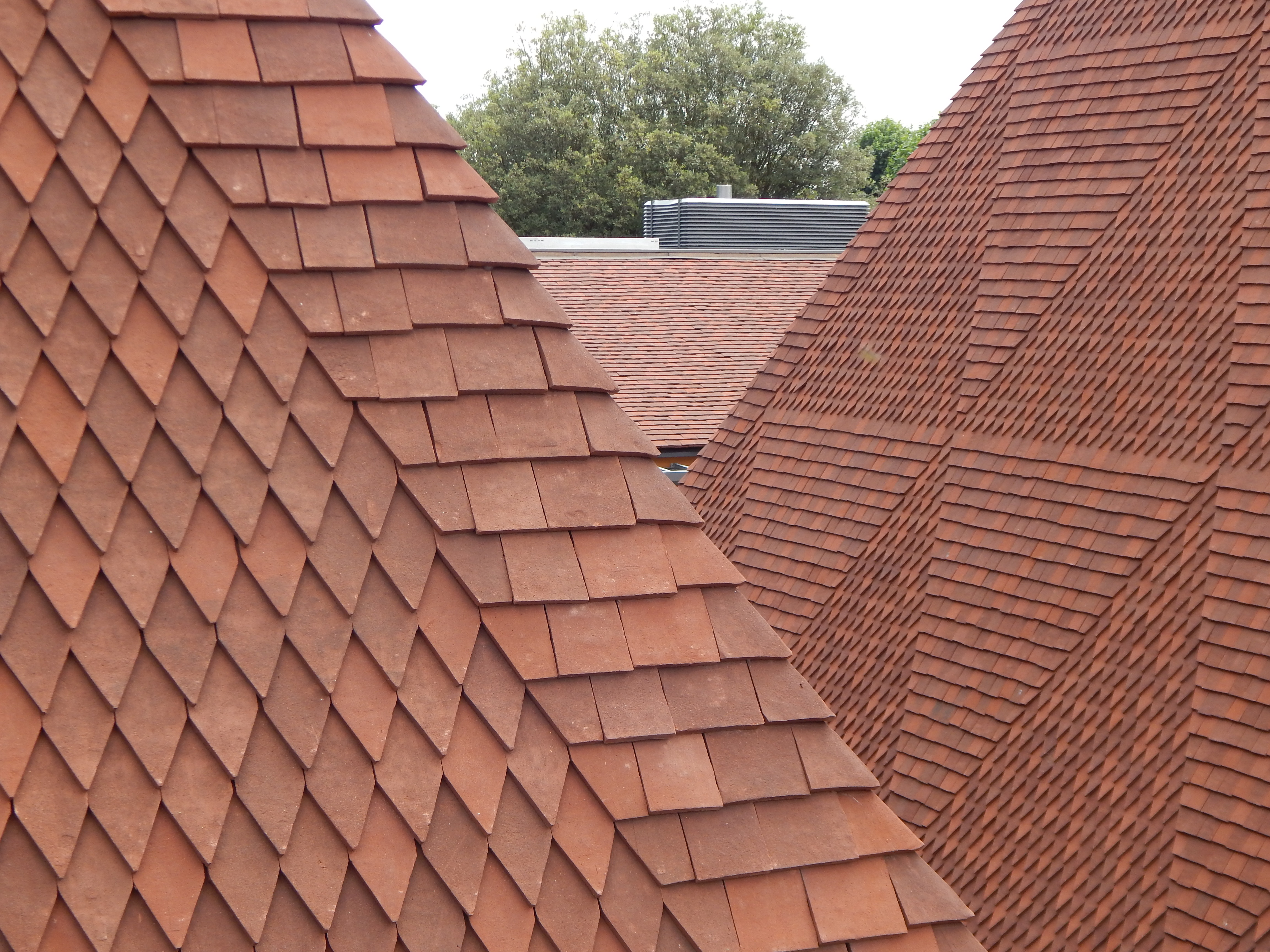 Bespoke Hand Made Clay Roof Tiles