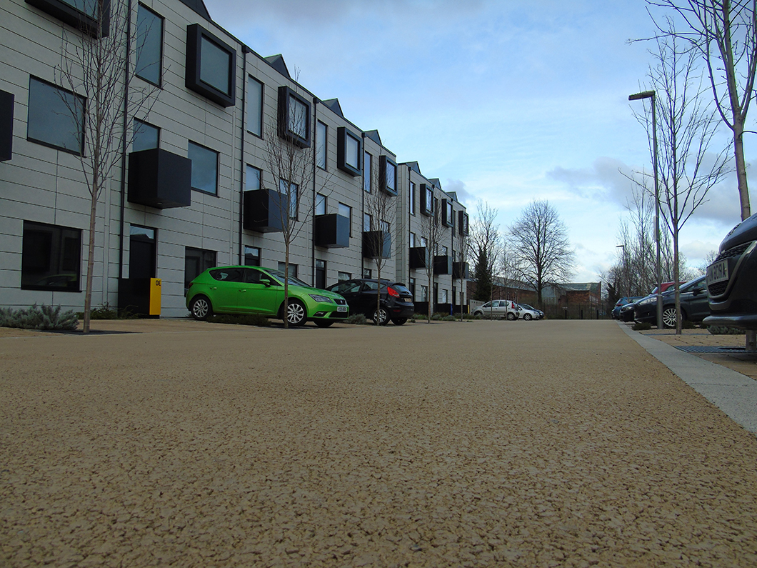Tarmac Ulticolour at Irwell Riverside Housing