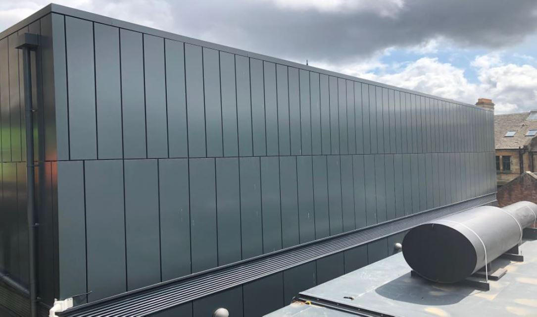 University of Glasgow's Black Box stands out with BritFab cladding