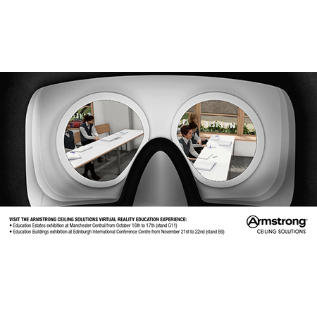 Armstrong Ceilings set to debut virtual reality education experience