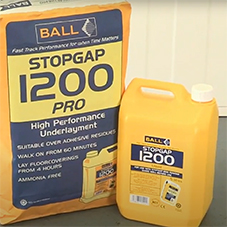 How to mix and apply STOPGAP 1200 Pro