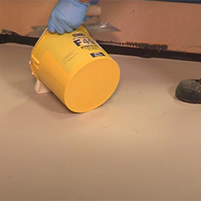 How to mix and apply STYCCOBOND F49