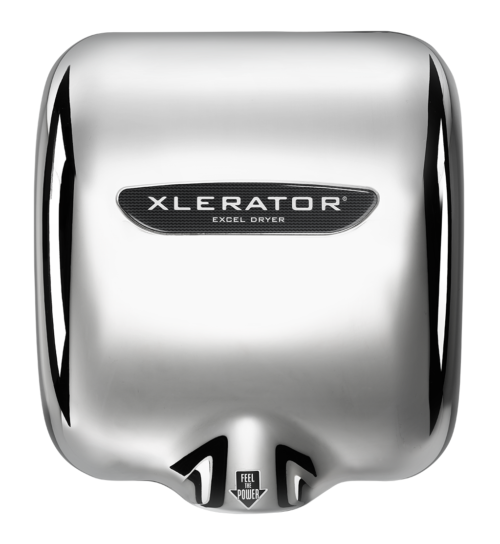 XLERATOR® Hand Dryer - XL CV CHROME 230V 6.1A 50/60 Hz