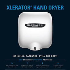 XLERATOR® Hand Dryer Product Sheet
