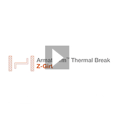 How the Armatherm™ Z-Girt reduces thermal bridging through cladded and panelled walls