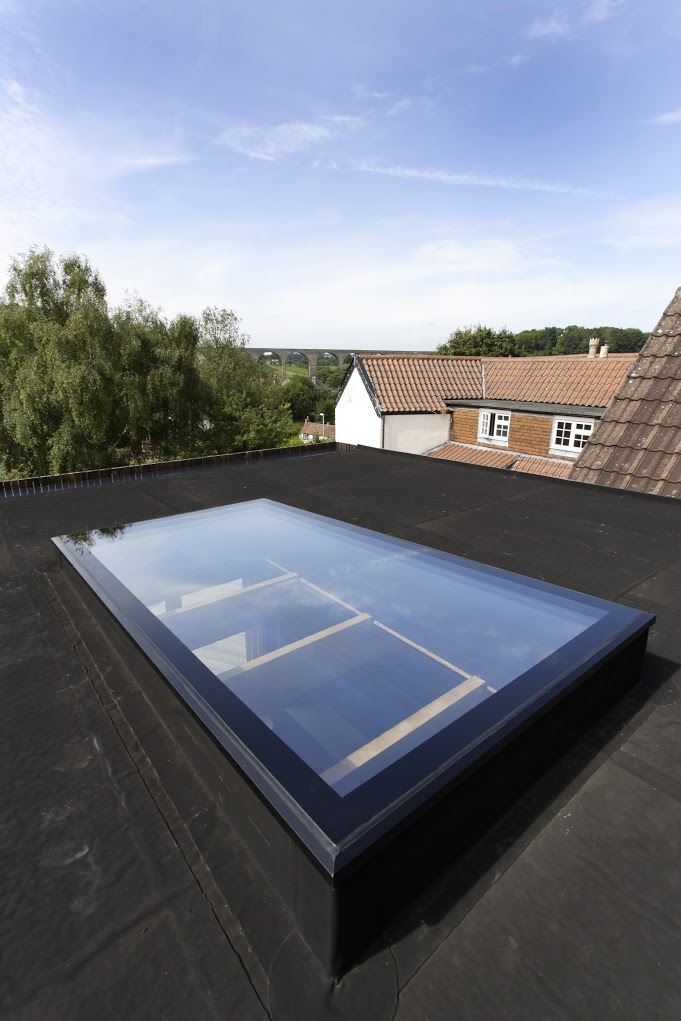 Roofmaker rooflight for miners cottage renovation
