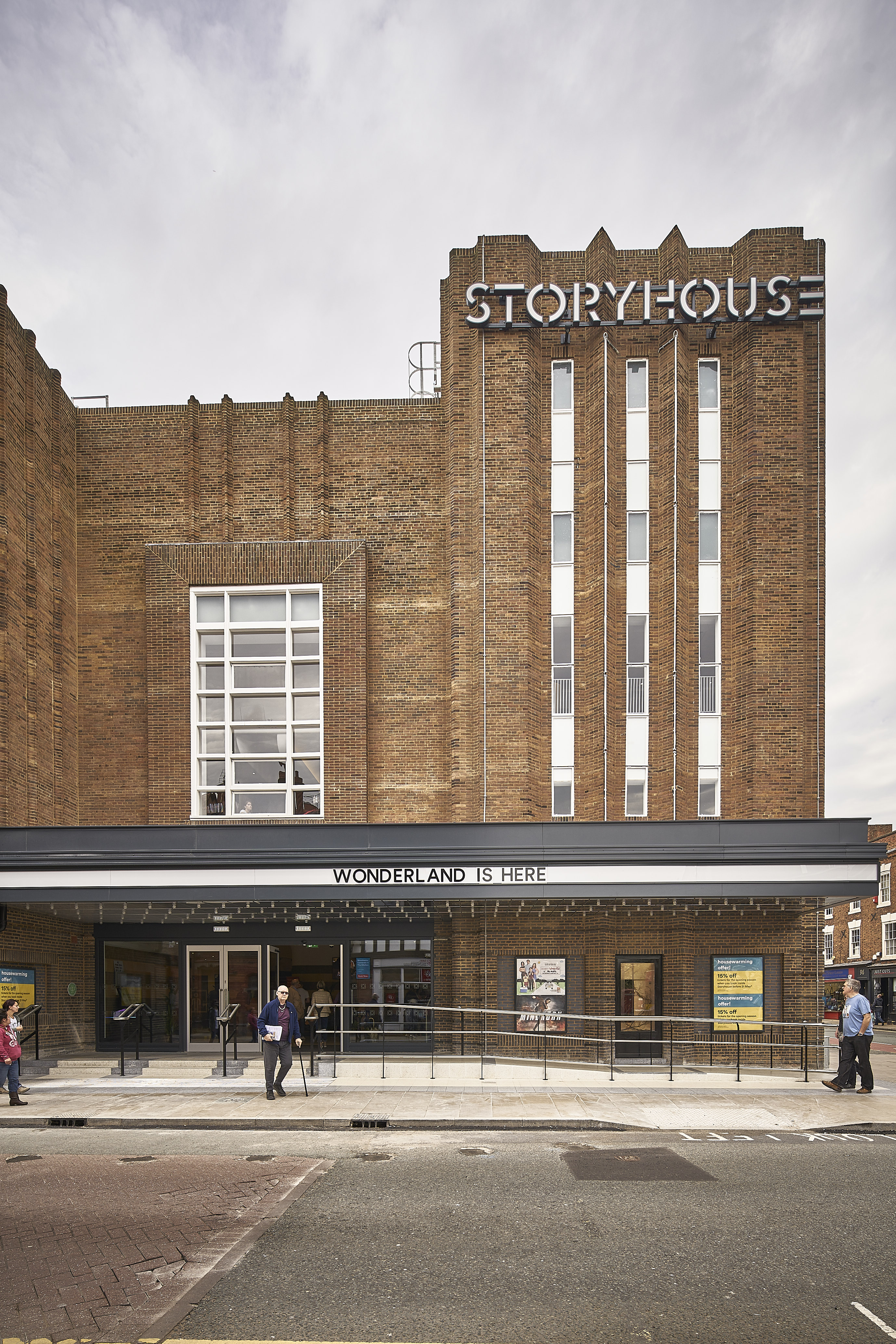 Gradus lights up the silver screen at Chester's Storyhouse