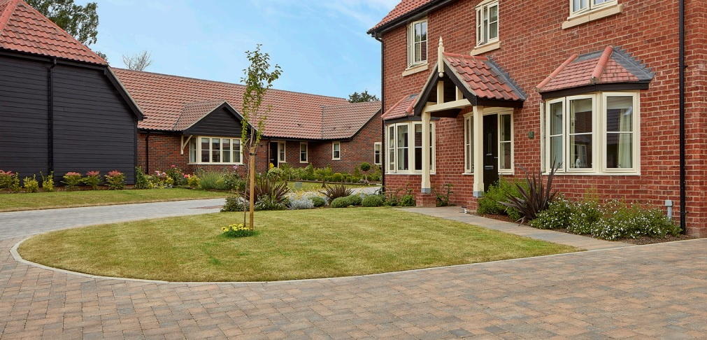 Timeless Roma block paving evokes style and elegance