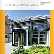 CS Airfoil® Solar Shading Systems