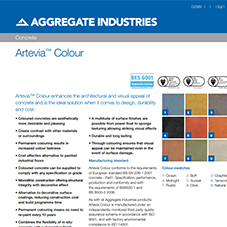 Artevia® Colour Tech Data Sheet