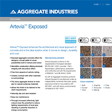 Artevia® Exposed Tech Data Sheet
