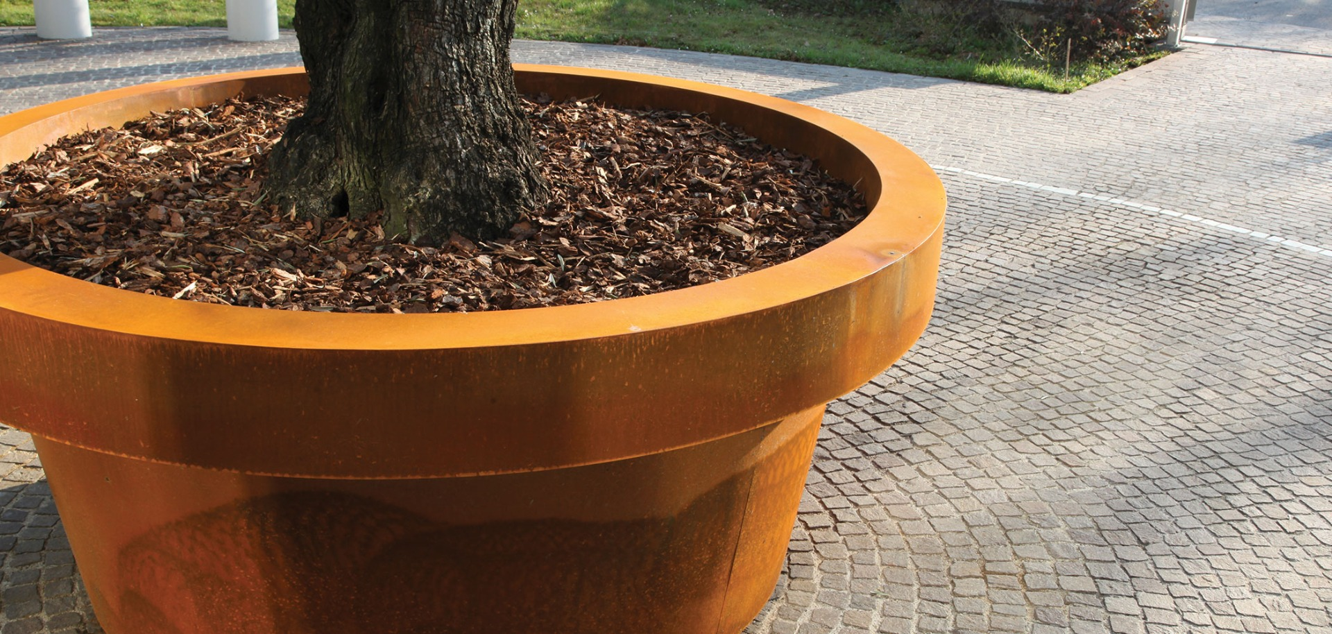 Artform launch impressive gigantic steel planter