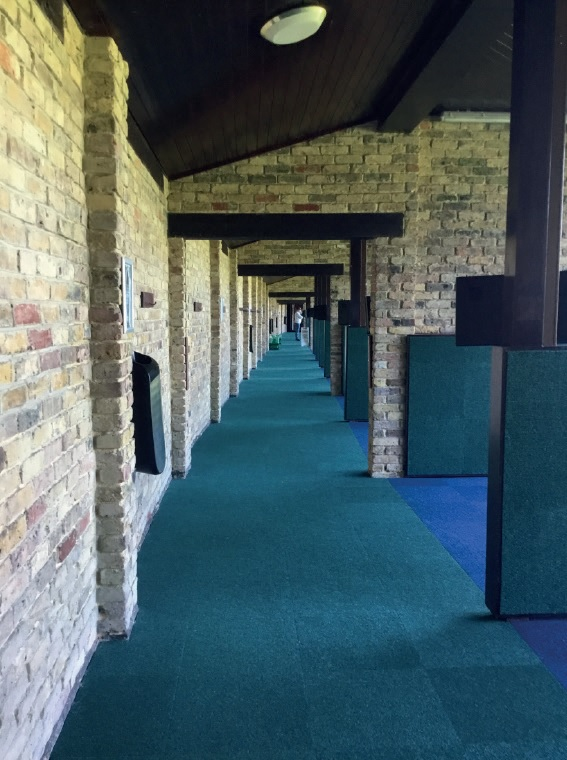 Comfortable Spikemaster flooring for Ascot Lavender Golf Course