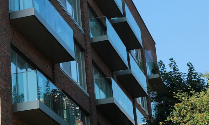 Sapphire balconies for Ash House regeneration project