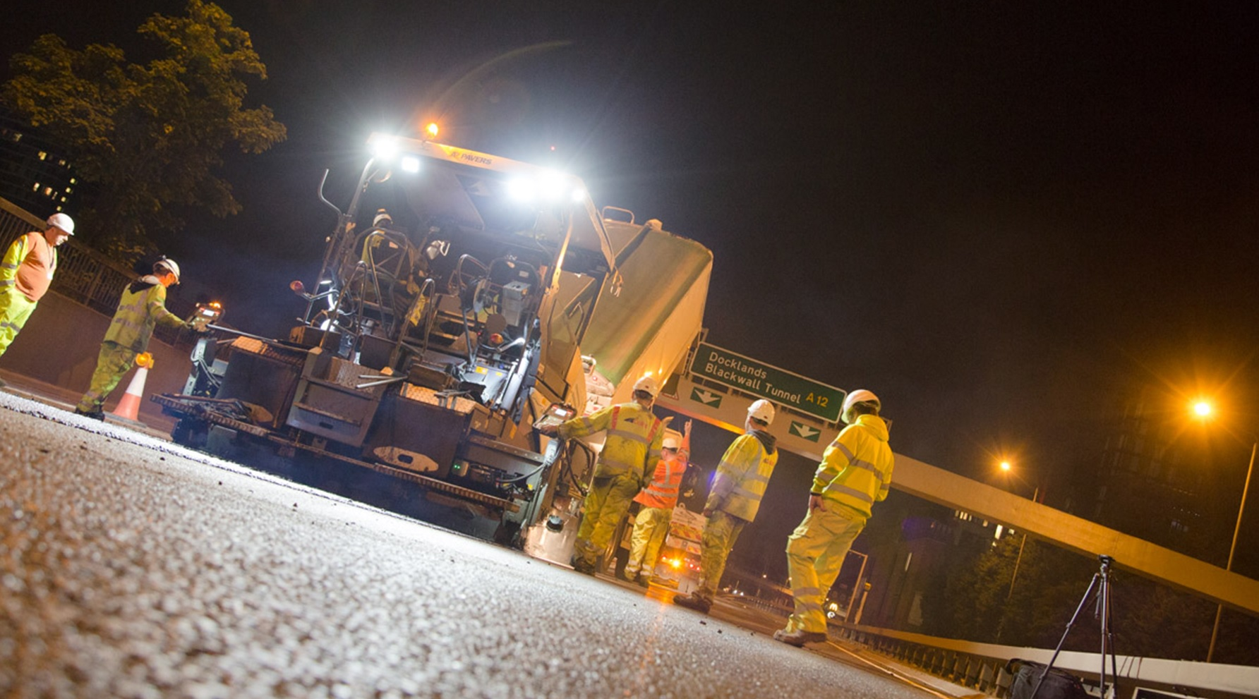 Aggregate Asphalt ensures a smooth journey for M1 drivers