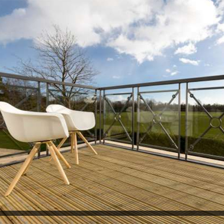 Non-slip decking at luxury Bristol retirement village