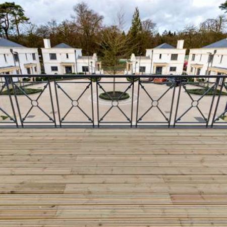 Non-slip decking at luxury Bristol retirement village