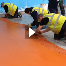 Antimicrobial Resin Flooring Protected by BioCote